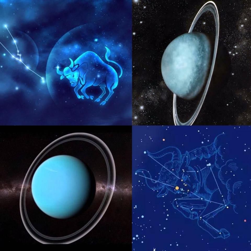 天王星進入金牛座
